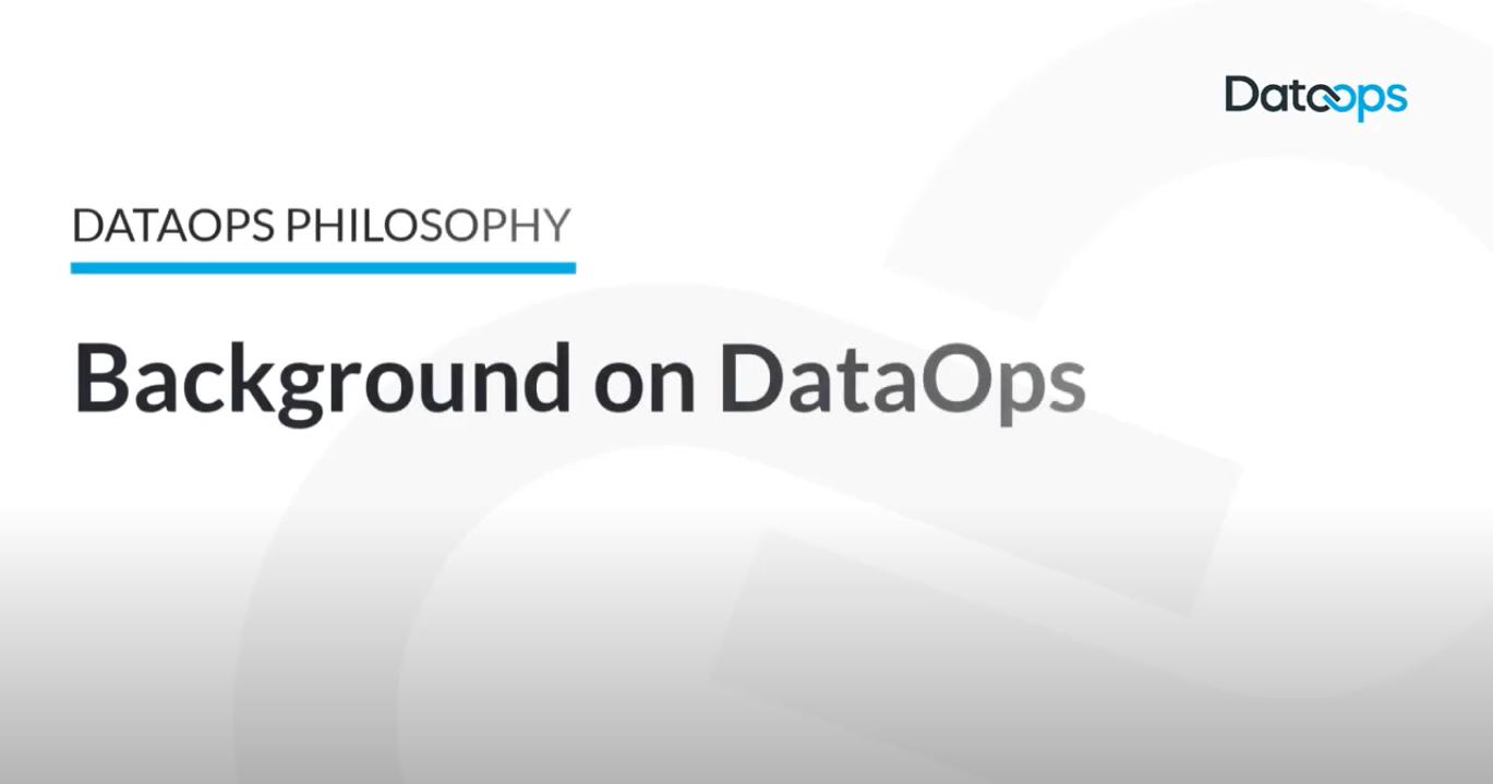 DataOps Background