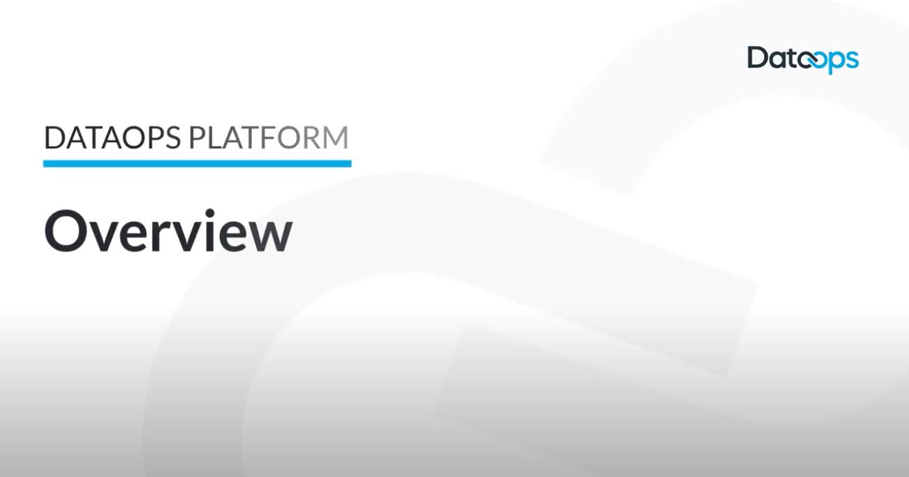 DataOps.live Platform Overview
