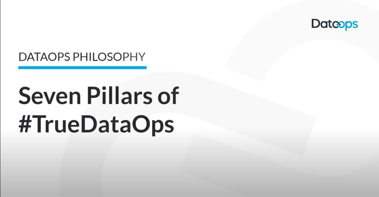 DataOps Seven Pillars