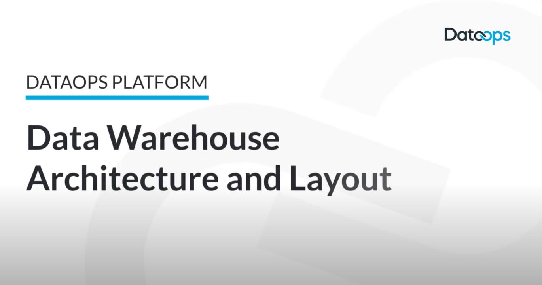 DataOps.live Data Warehouse