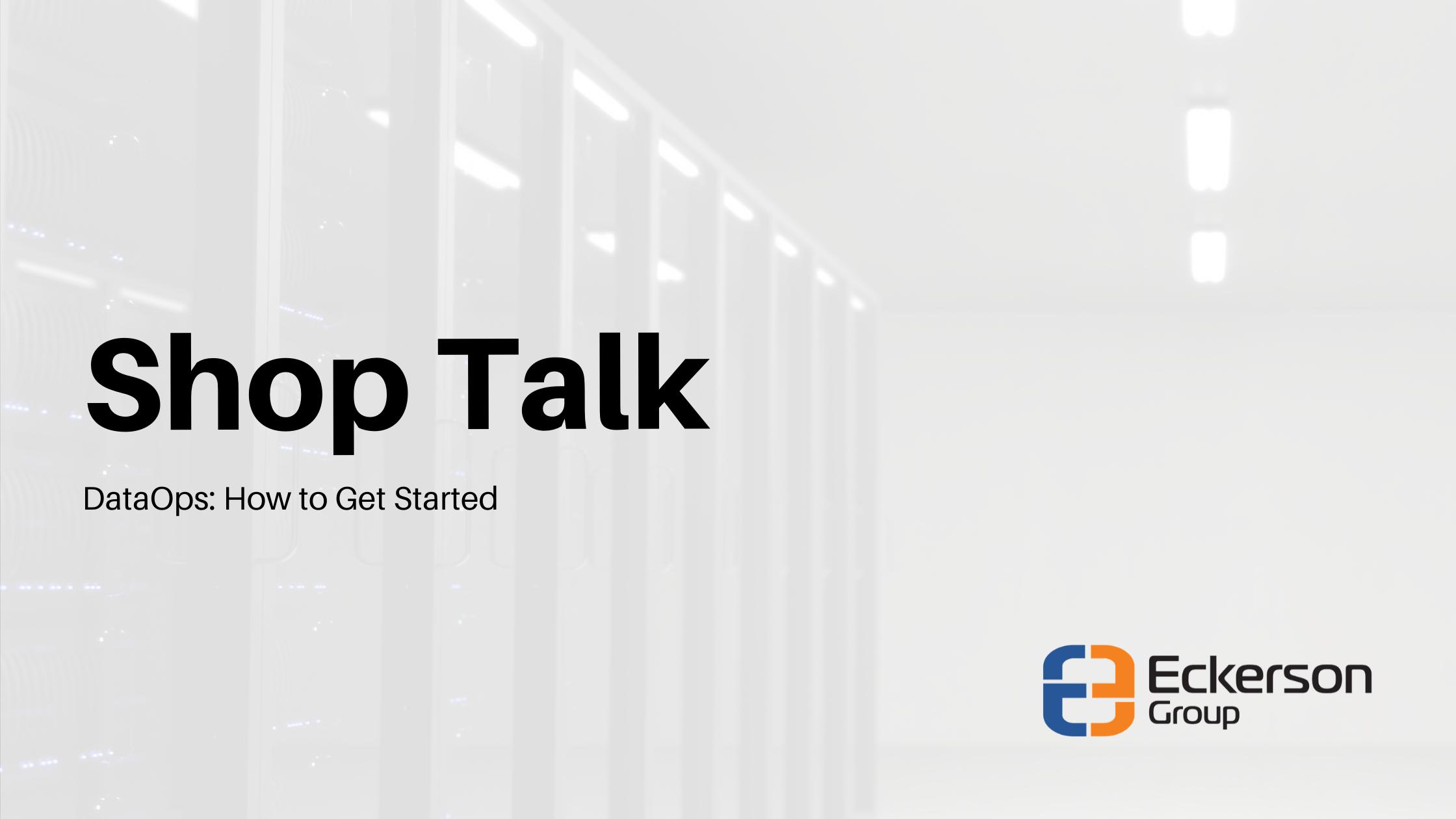 Eckerson Group - Shop Talk Cover